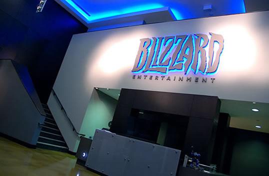 Blizzard's office