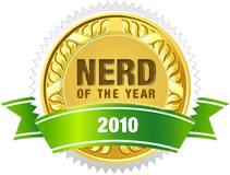 Nerd of the Year 2010 - Andrew Mason