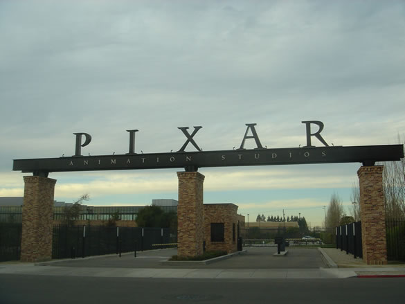 Pixar office