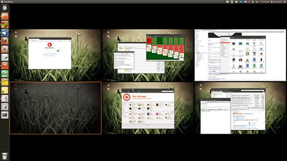 Ubuntu Virtual Desktops