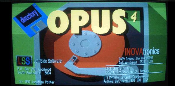 Directory Opus 4 Amiga