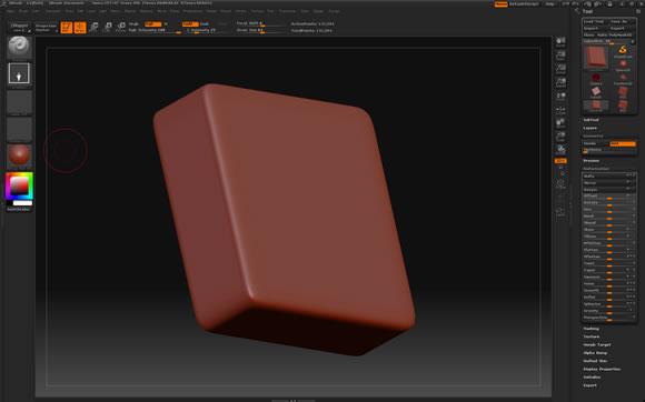 ZBrush Cube