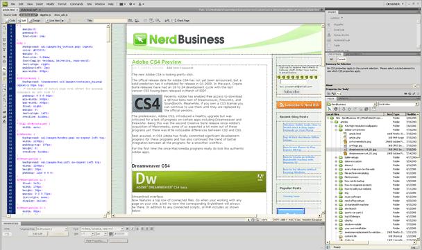 Adobe CS4 Preview