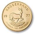 Krugerrand 1977 gold coin
